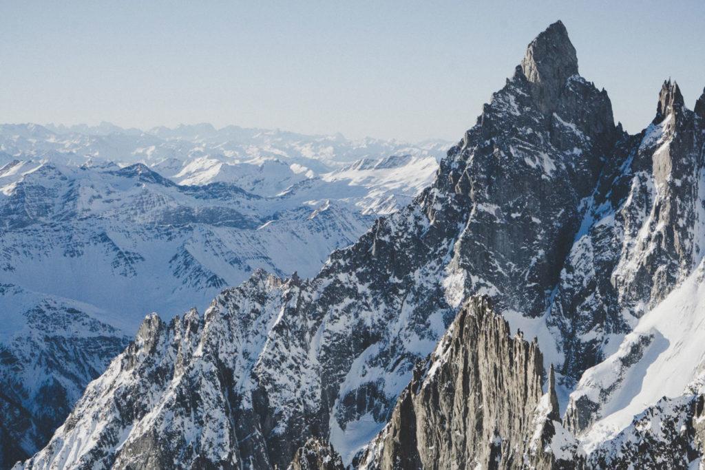Гора Монте Бьянко