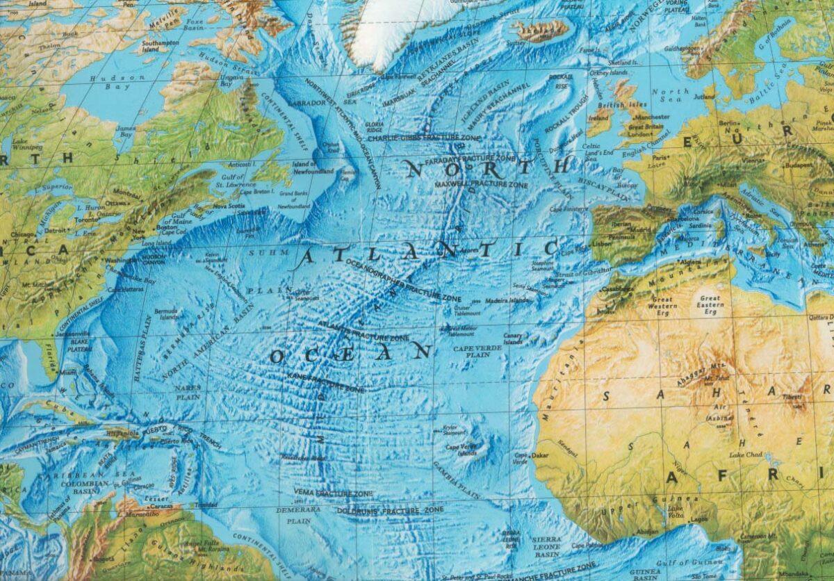день картинки карты атлантического океана великолепно